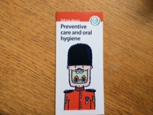 Preventative care leaflet