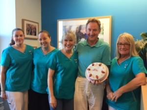 Bridge Dental celebrates a year since Hylton took over.